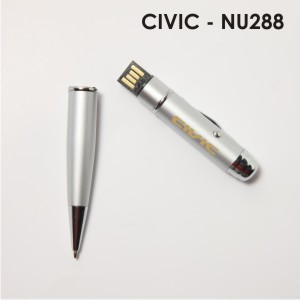 pen-with flash drive